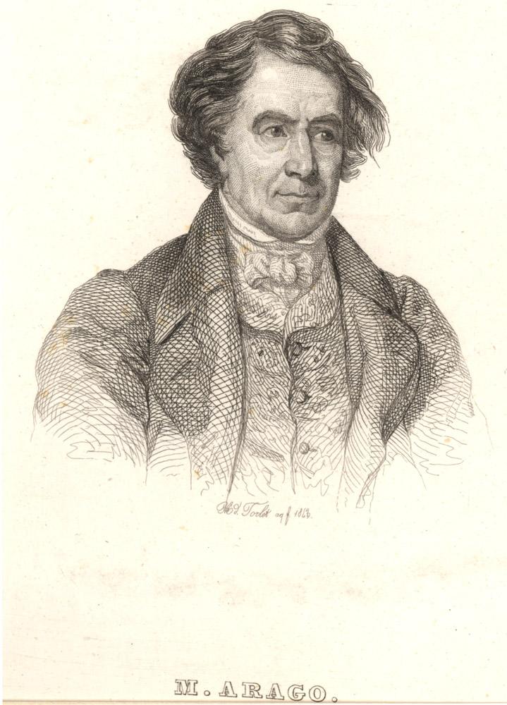Portrait of François Arago,  Image number:SIL14-A6-02a