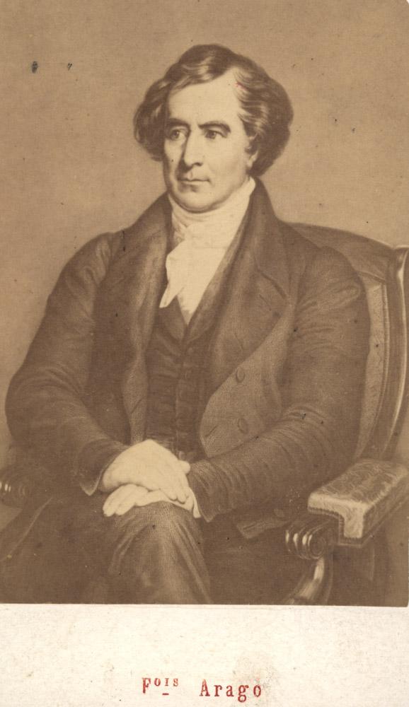 Portrait of François Arago,  Image number:SIL14-A6-03a