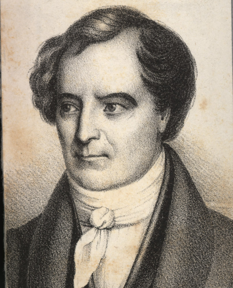 Portrait of François Arago,  Image number:SIL14-A6-04a