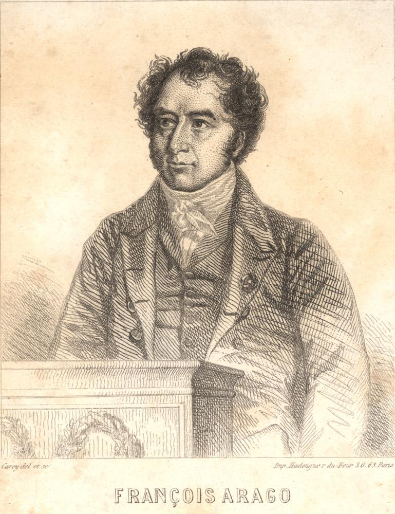 Portrait of François Arago,  Image number:SIL14-A6-05a
