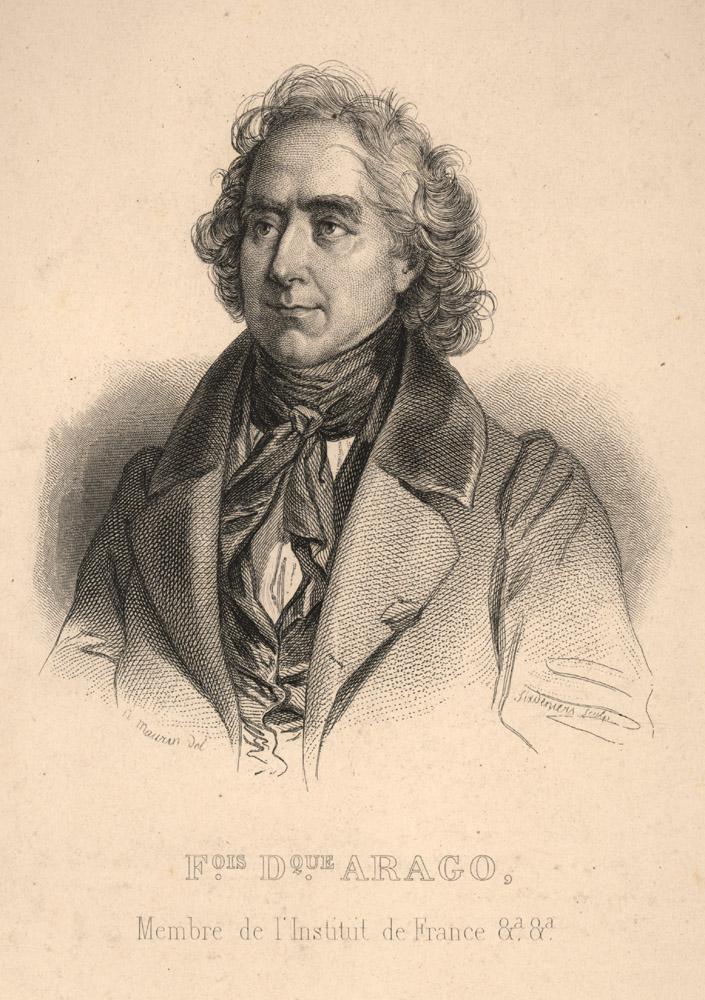 Portrait of François Arago,  Image number:SIL14-A6-06a