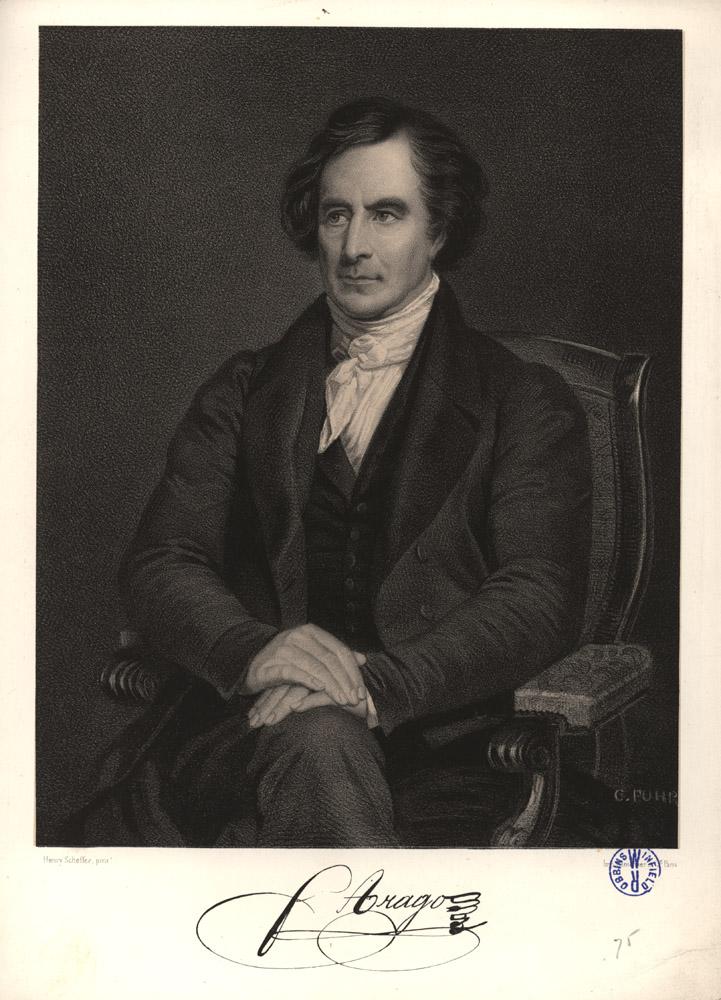 Portrait of François Arago,  Image number:SIL14-A6-08a