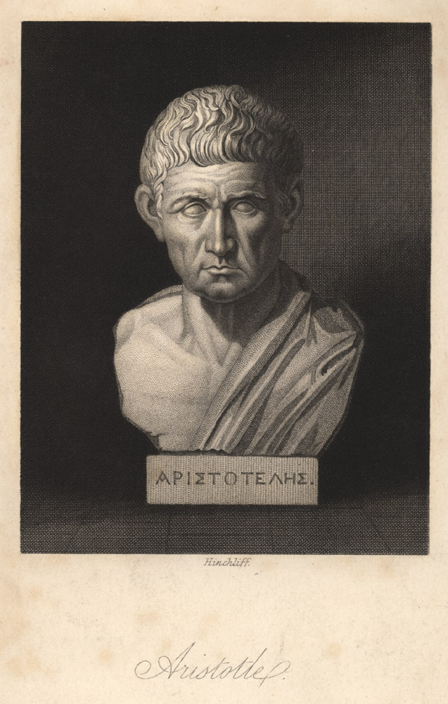 Portrait of Aristotle,  Image number:SIL14-A7-02a