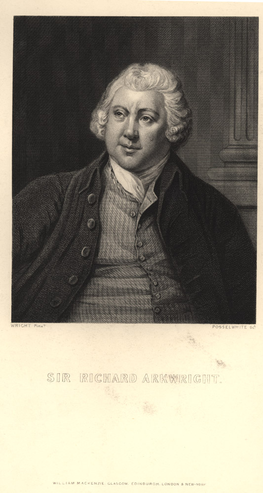 Portrait of Richard Arkwright,  Image number:SIL14-A7-04a