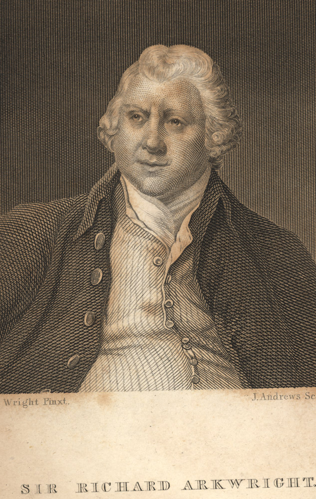 Portrait of Richard Arkwright,  Image number:SIL14-A7-05a