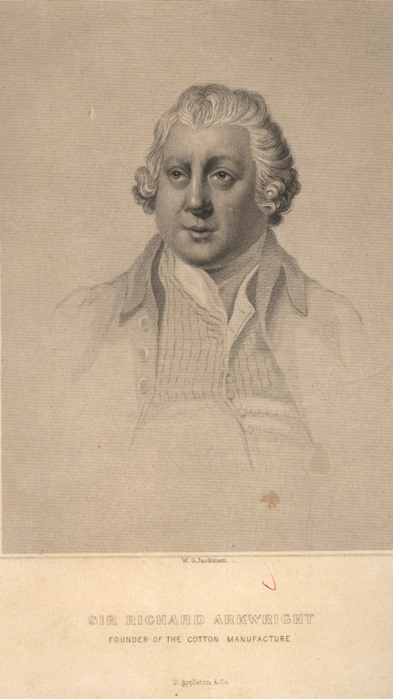 Portrait of Richard Arkwright,  Image number:SIL14-A7-06a