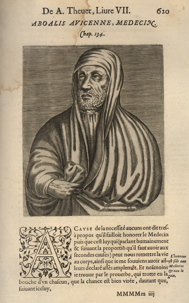 Portrait of Avicenna,  Image number:SIL14-A7-10a