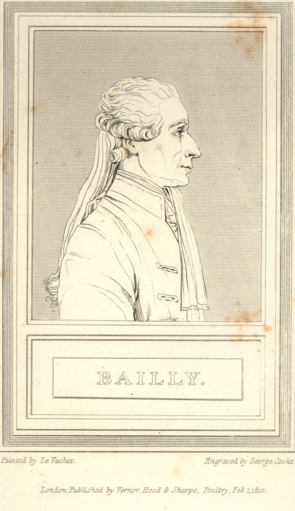 Portrait of Jean Sylvain Bailly,  Image number:SIL14-B1-08a