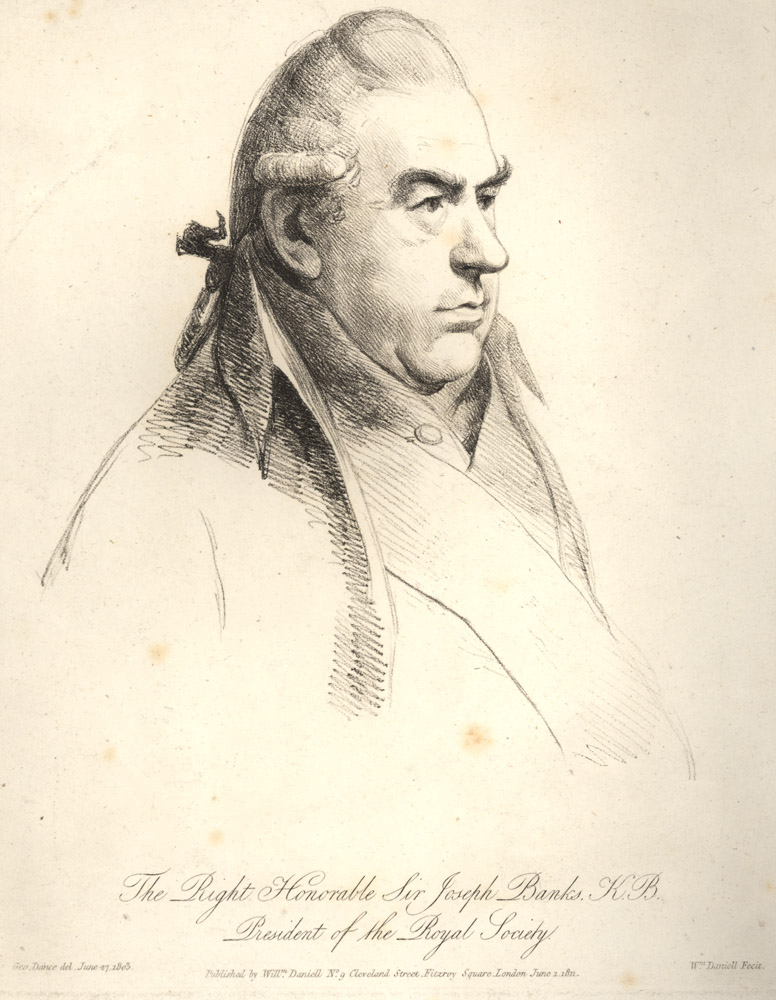 Portrait of Joseph Banks,  Image number:SIL14-B1-12a