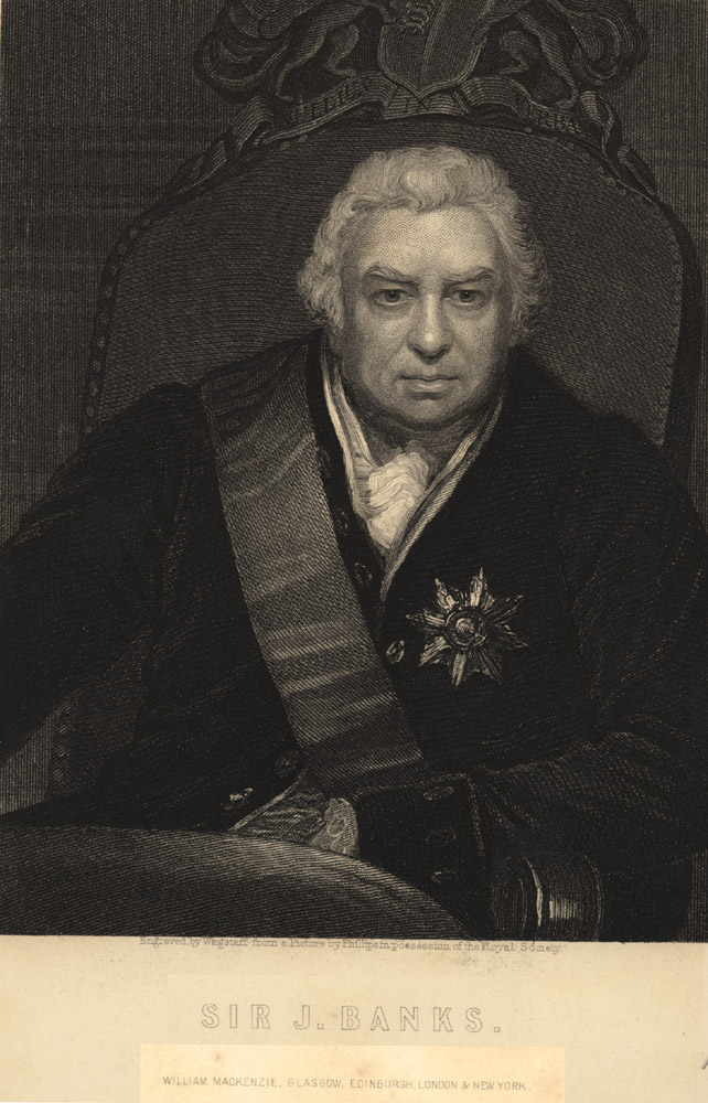 Portrait of Joseph Banks,  Image number:SIL14-B1-13a