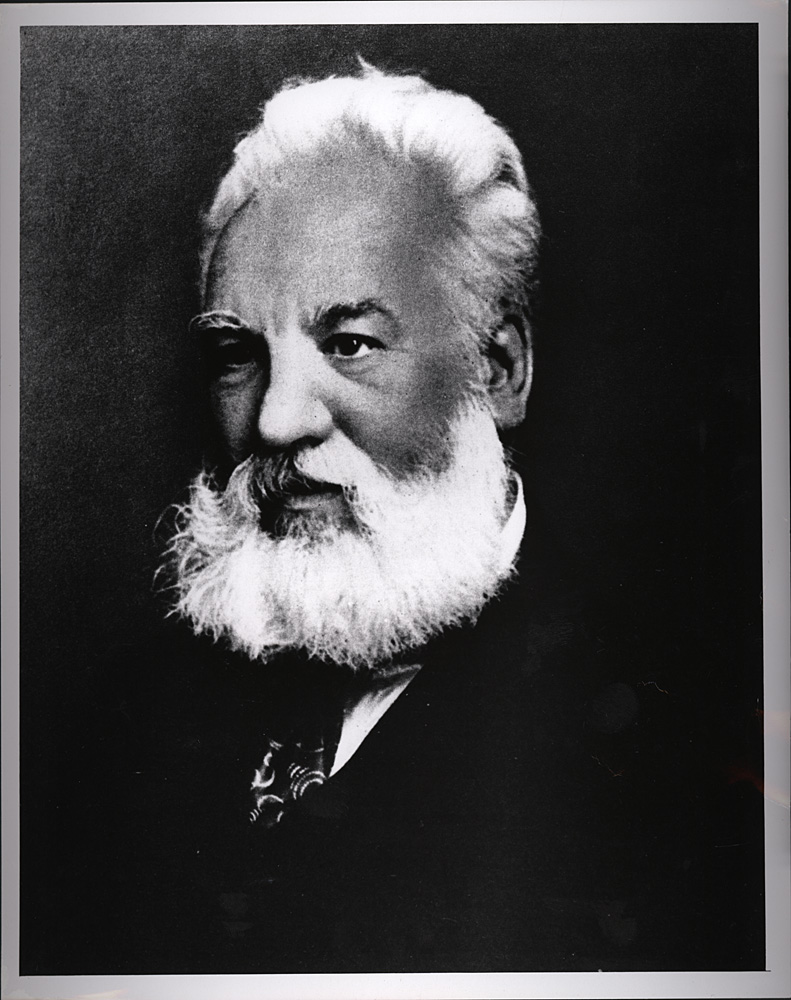 Portrait of Alexander Graham Bell,  Image number:SIL14-B2-09a