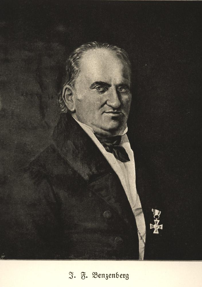 Portrait of Johann Friedrich Benzenberg,  Image number:SIL14-B2-12a
