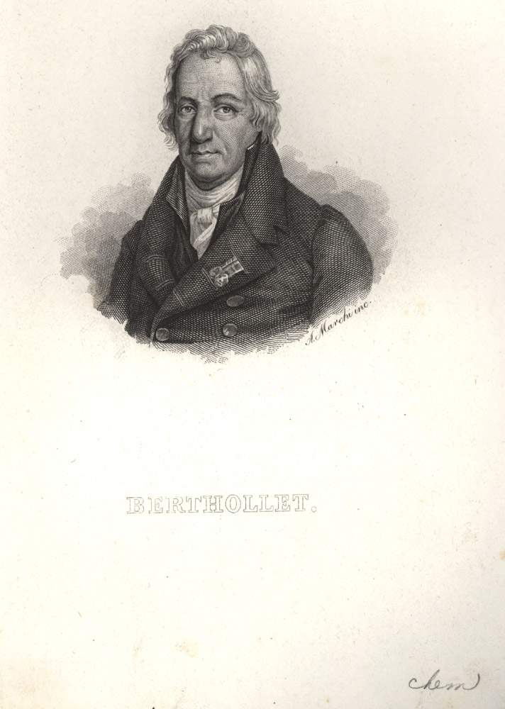 Portrait of Claude Louis Berthollet,  Image number:SIL14-B3-11a