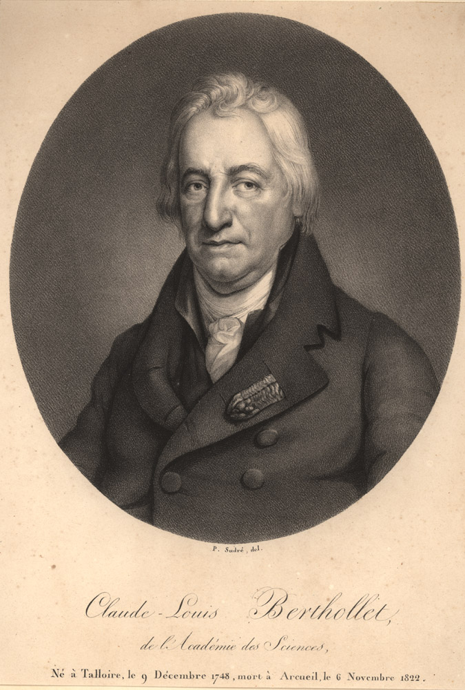 Portrait of Claude Louis Berthollet,  Image number:SIL14-B3-12a