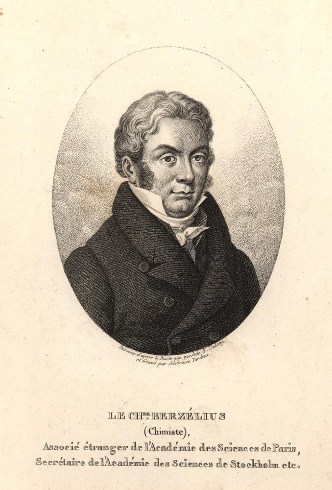 Portrait of Jons Jakob Berzelius,  Image number:SIL14-B3-13a