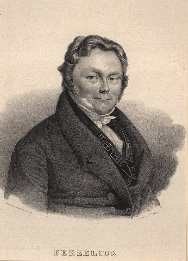 Portrait of Jons Jakob Berzelius,  Image number:SIL14-B3-14a