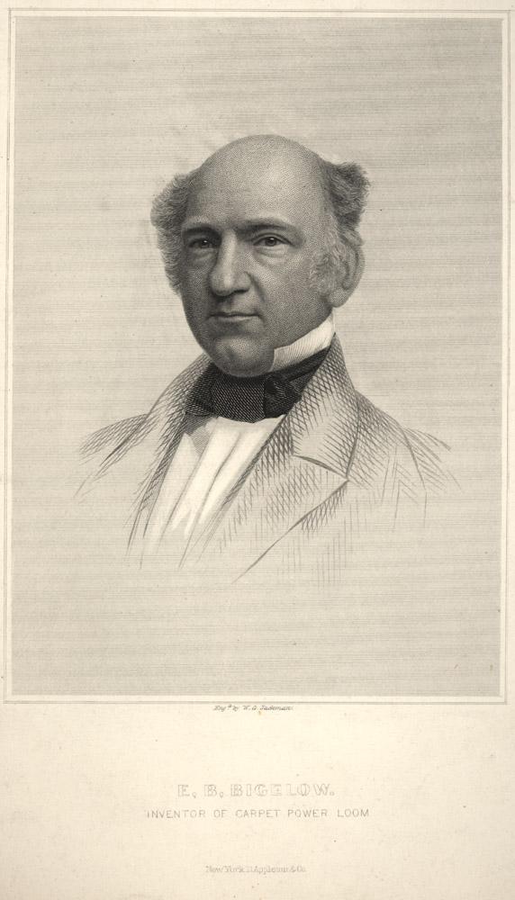 Portrait of Erastus Brigham Bigelow,  Image number:SIL14-B4-03a