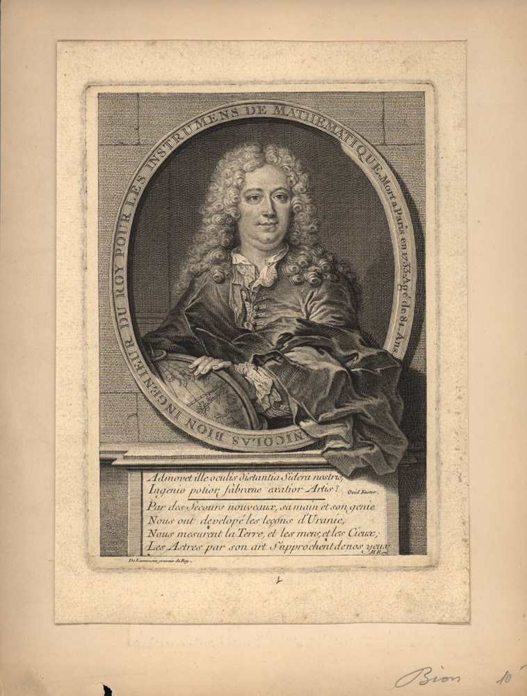 Portrait of Nicolas Bion,  Image number:SIL14-B4-04a