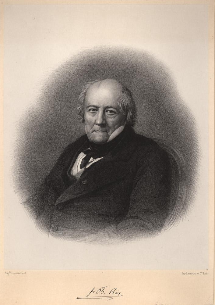 Portrait of Jean-Baptiste Biot,  Image number:SIL14-B4-05a