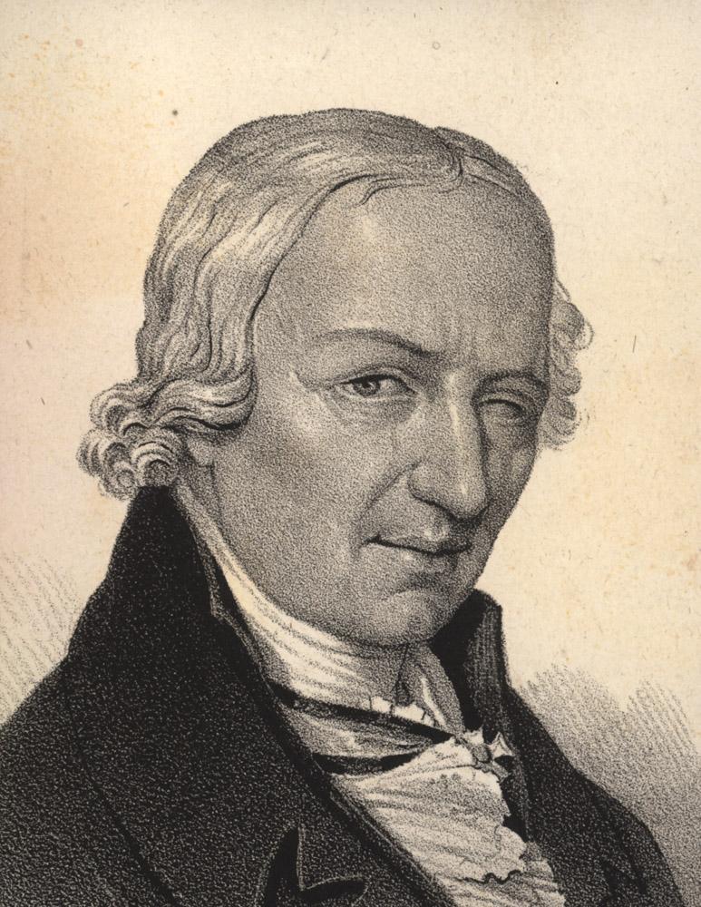 Portrait of Johann Elert Bode,  Image number:SIL14-B5-01a