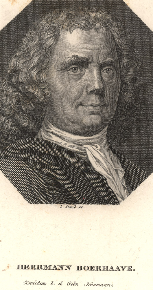 Portrait of Hermann Boerhaave,  Image number:SIL14-B5-03a
