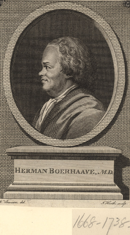 Portrait of Hermann Boerhaave,  Image number:SIL14-B5-04a