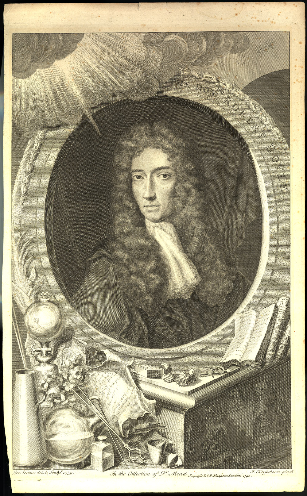 Portrait of Robert Boyle,  Image number:SIL14-B6-07a