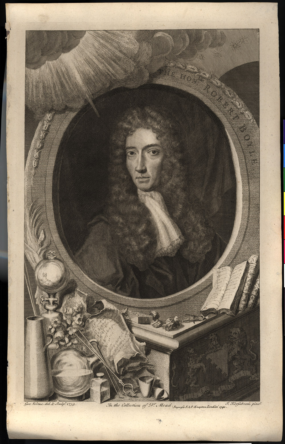Portrait of Robert Boyle,  Image number:SIL14-B6-13a