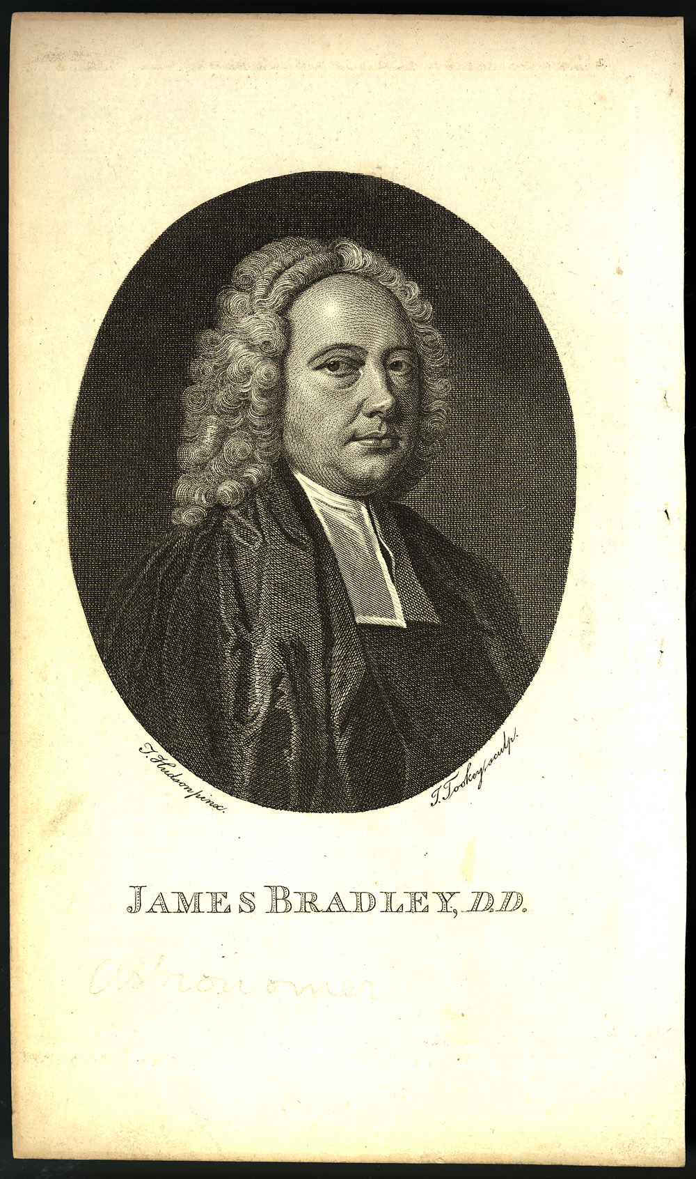 Portrait of James Bradley,  Image number:SIL14-B7-01a