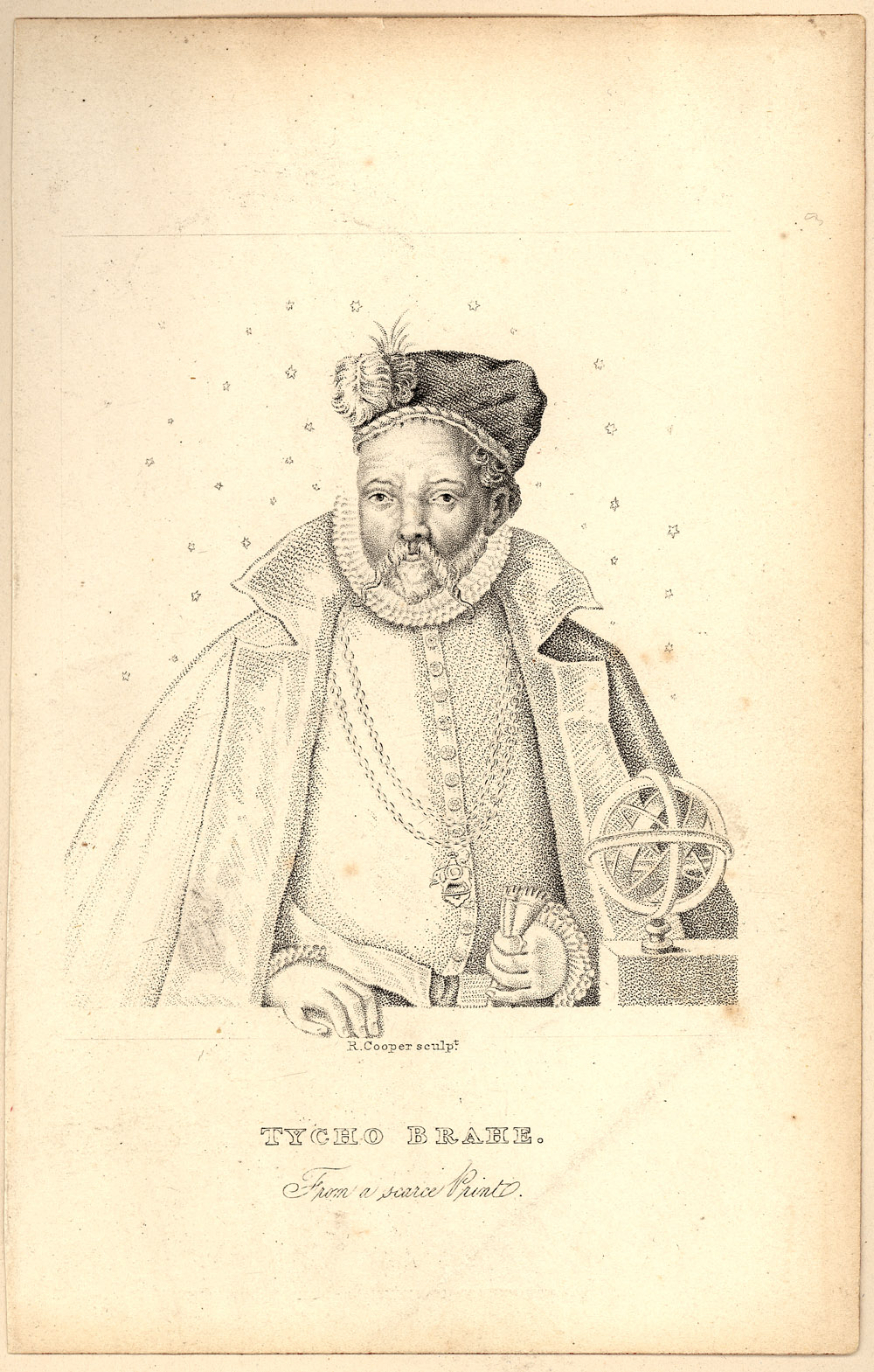 Portrait of Tycho Brahe,  Image number:SIL14-B7-06a