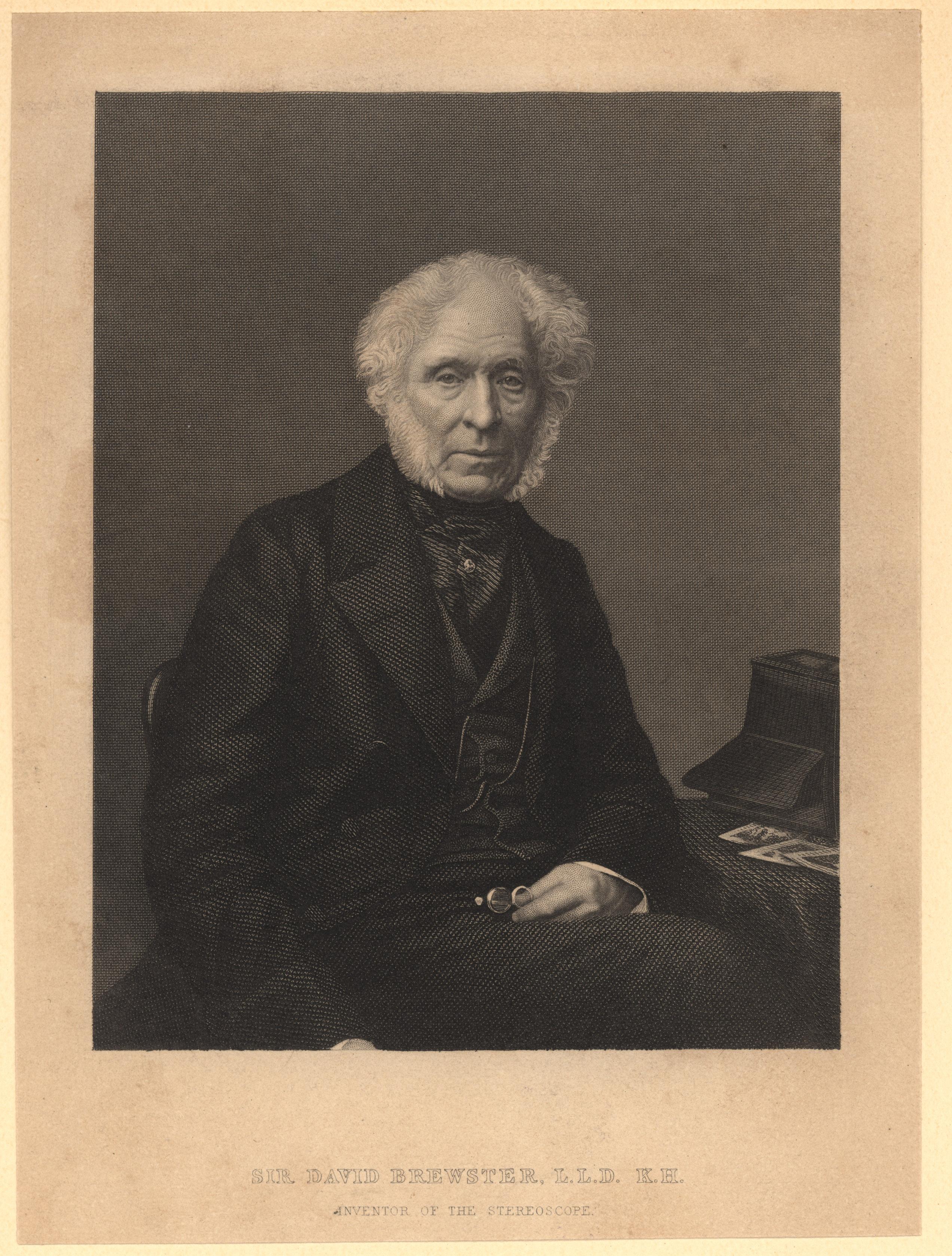 Portrait of David Brewster,  Image number:SIL14-B7-17a