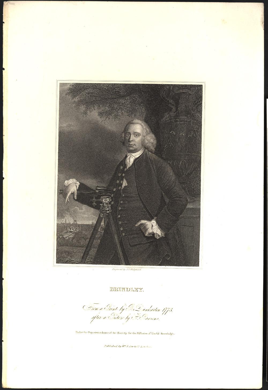 Portrait of James Brindley,  Image number:SIL14-B8-01a