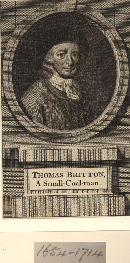 Portrait of Thomas Britton,  Image number:SIL14-B8-03a