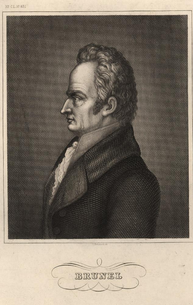 Portrait of Marc Brunel,  Image number:SIL14-B9-03a
