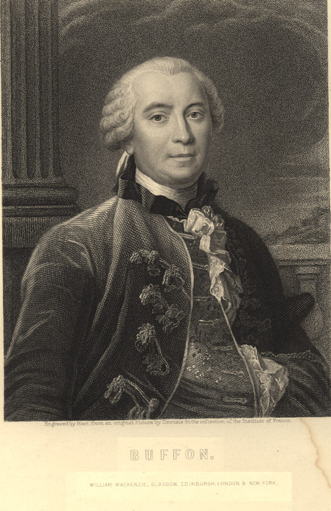 Portrait of Georges Louis Leclerc Buffon,  Image number:SIL14-B9-08a