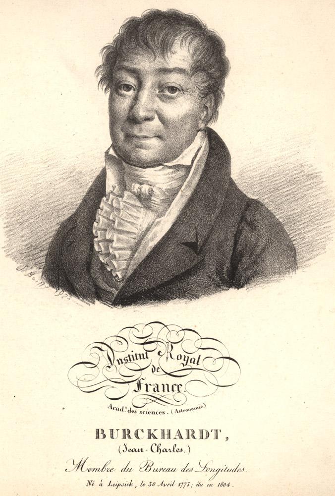 Portrait of Jean Charles Burckhardt,  Image number:SIL14-B9-11a