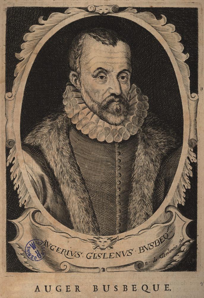 Portrait of Ogier Ghislain de Busbeck,  Image number:SIL14-B9-13a