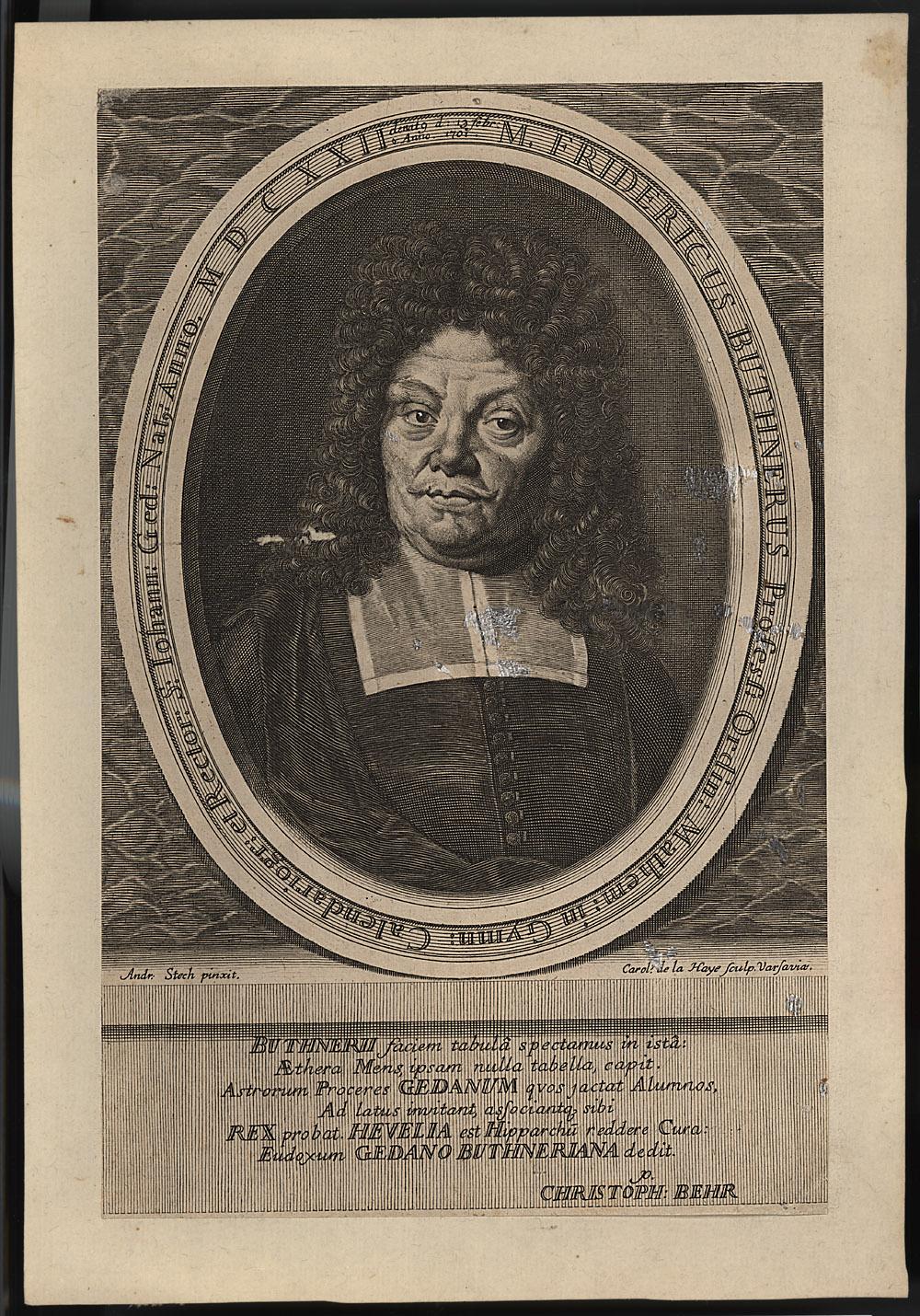 Portrait of Friedrich Büthner,  Image number:SIL14-B9-14a