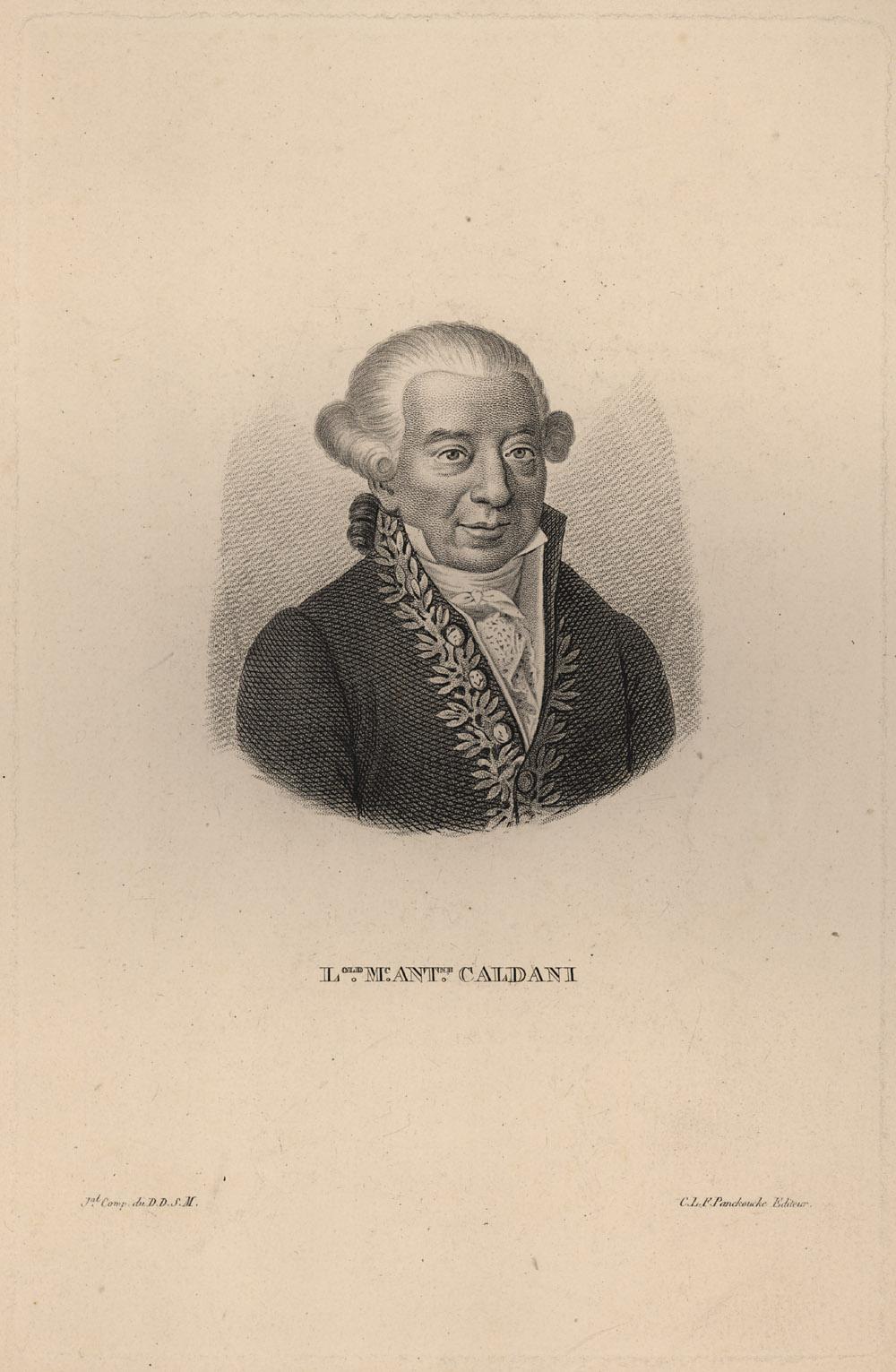 Portrait of Leopoldo Marco Antonio Caldani,  Image number:SIL14-C1-04a