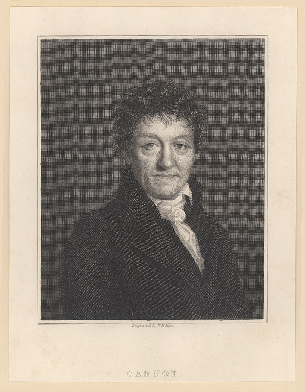 Portrait of Lazare Carnot,  Image number:SIL14-C1-09a