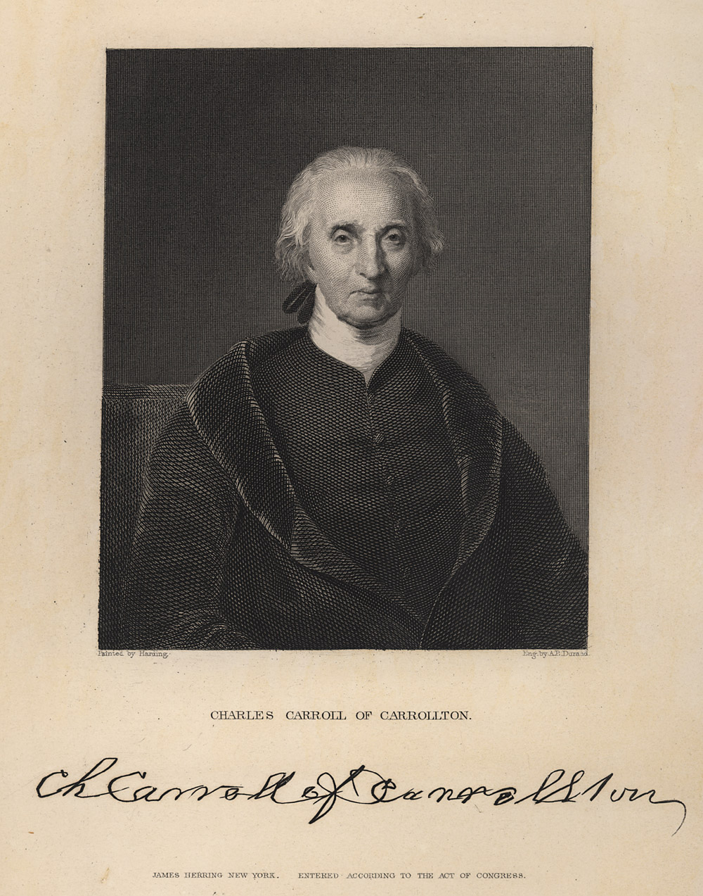 Portrait of Charles Carroll,  Image number:SIL14-C1-13a