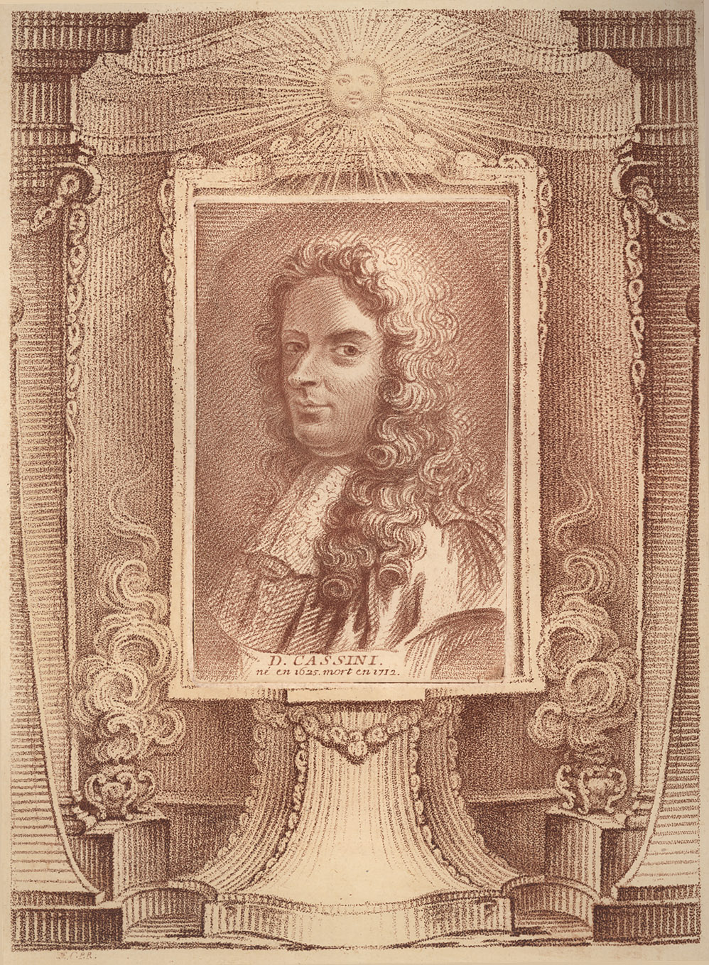 Portrait of Jean-Dominique Cassini,  Image number:SIL14-C1-17a