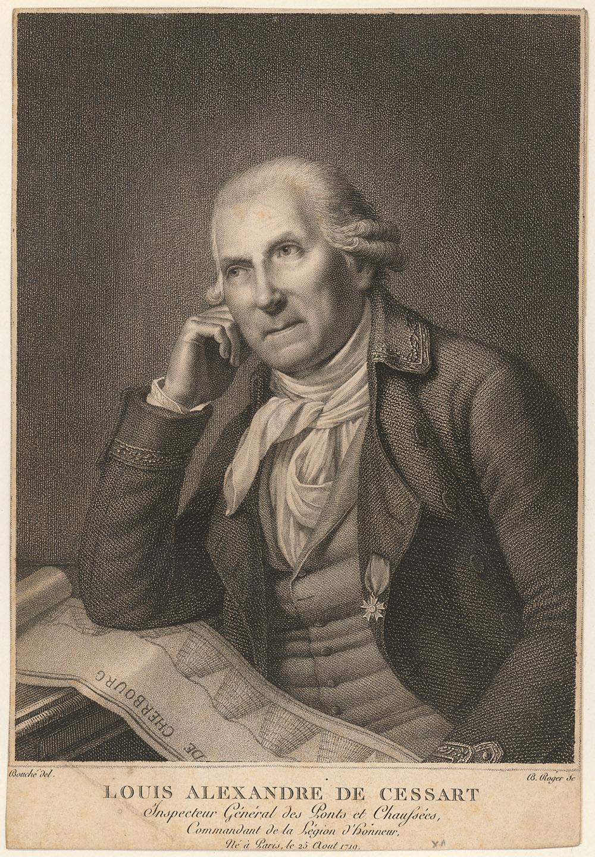 Portrait of Louis-Alexandre de Cessart,  Image number:SIL14-C2-09a