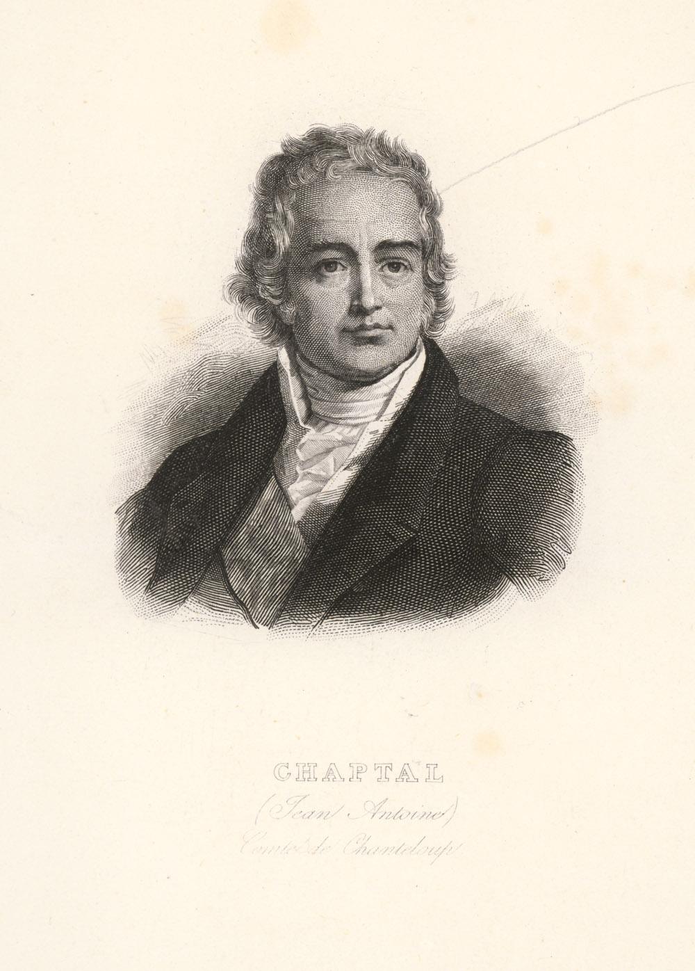 Portrait of Jean-Antoine-Claude Chaptal,  Image number:SIL14-C3-04a