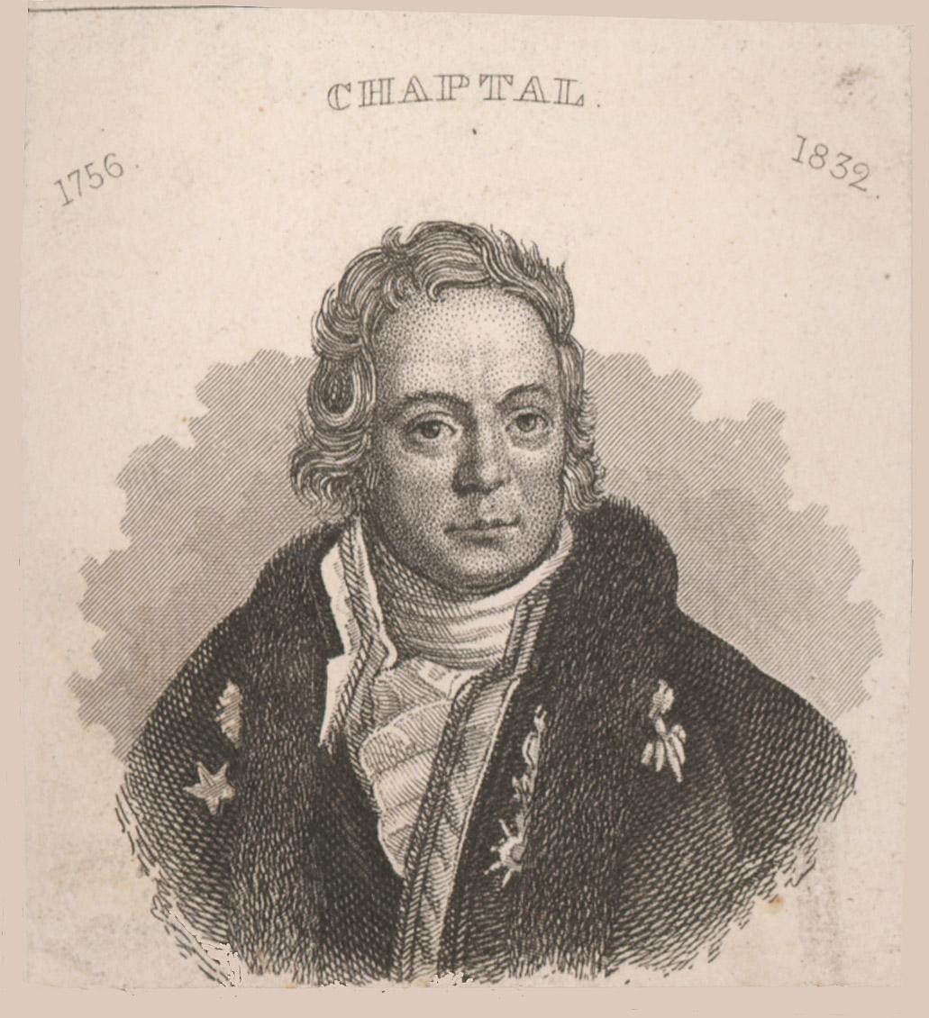Portrait of Jean-Antoine-Claude Chaptal,  Image number:SIL14-C3-05a