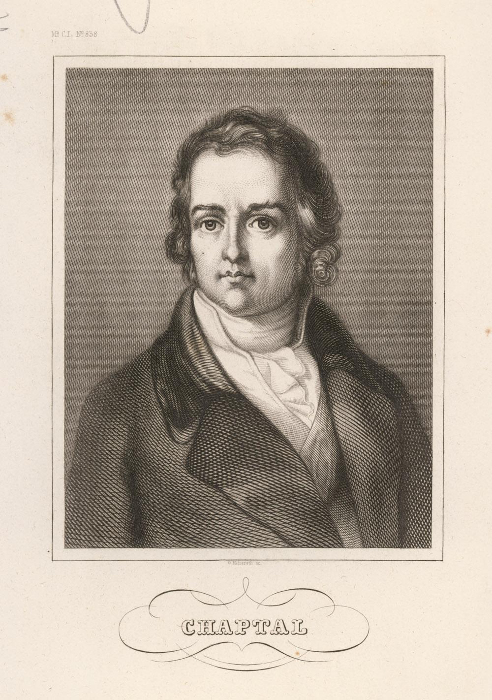 Portrait of Jean-Antoine-Claude Chaptal,  Image number:SIL14-C3-06a