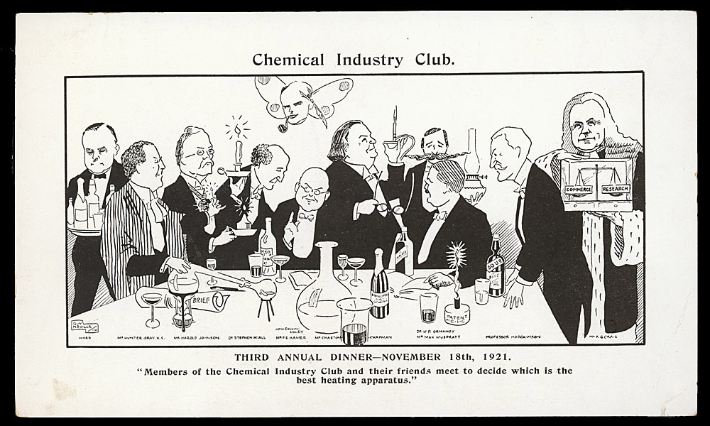 Portrait of Chemical Industry Club,  Image number:SIL14-C3-09a