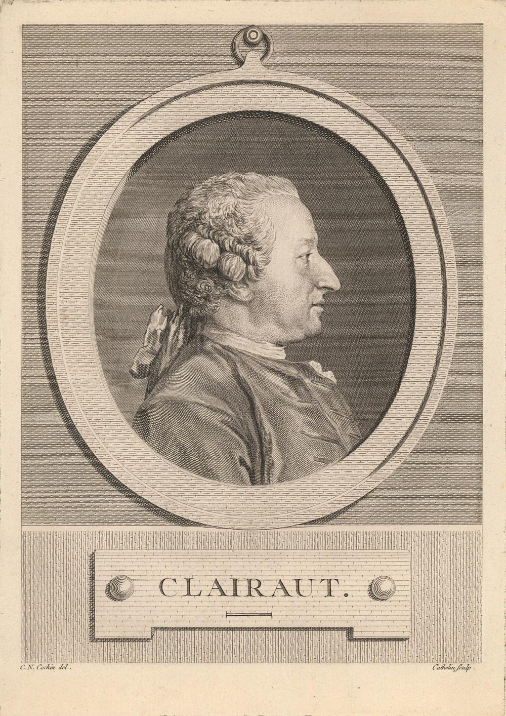 Portrait of Alexis Claude Clairaut,  Image number:SIL14-C4-01a