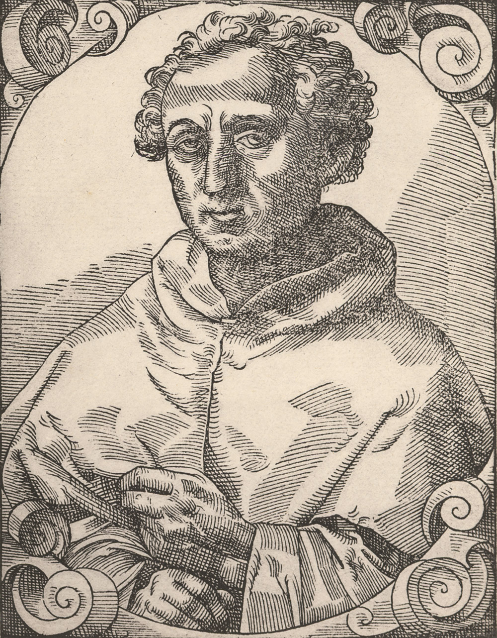 Portrait of Christopher Columbus,  Image number:SIL14-C4-11a