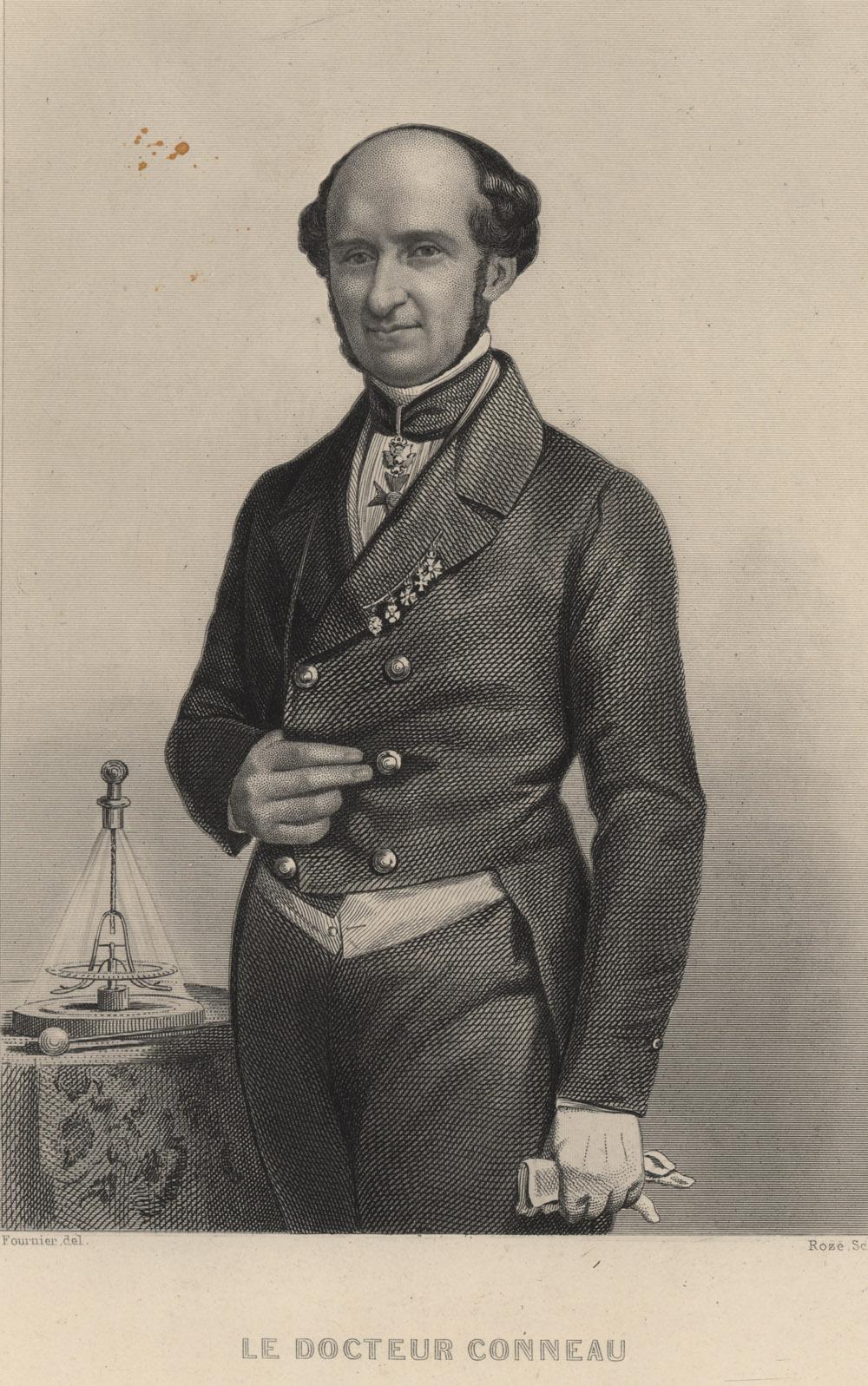 Portrait of François-Alexandre-Henri Conneau,  Image number:SIL14-C5-03a